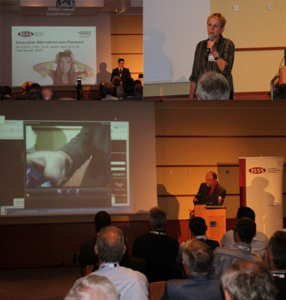 Evening seminar of the Information Security Society Switzerland (ISSS) on the Topic Innovative Alternatives to Passwords Oct 26, 2010 in Zurich